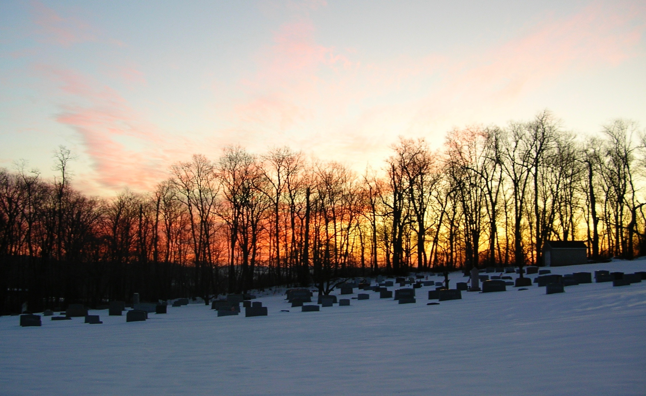Elverson cemetery